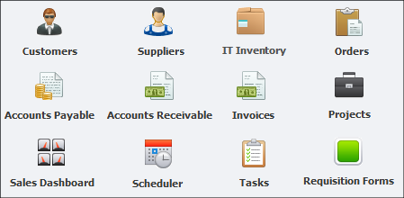 Part of a Larger System for Managing Company Information
